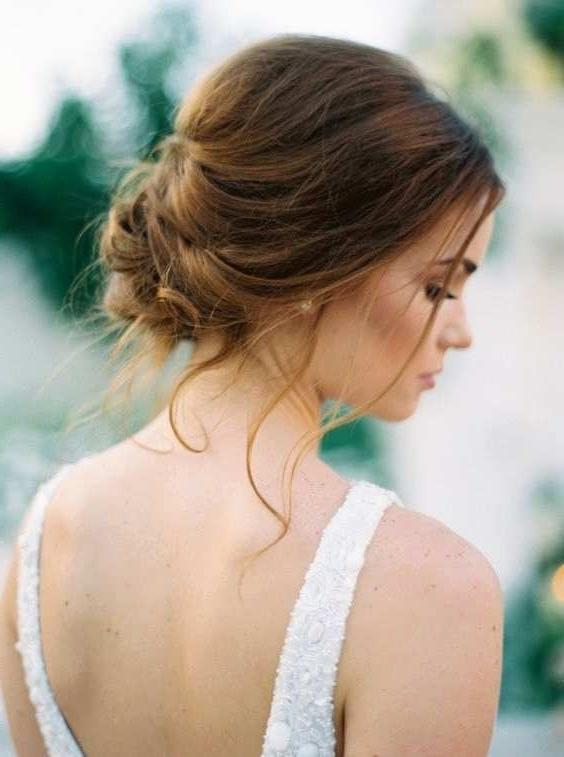Wedding Hairstyles For Medium Thin Hair Luxury 10 Updo Hairstyle Inside Bridal Hairstyles For Medium Length Thin Hair (View 9 of 15)