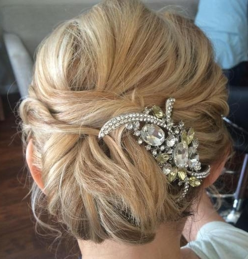 Wedding Hairstyles For Mother Of The Bride Awesome 40 Ravishing Regarding Mother Of Bride Wedding Hairstyles (View 10 of 15)