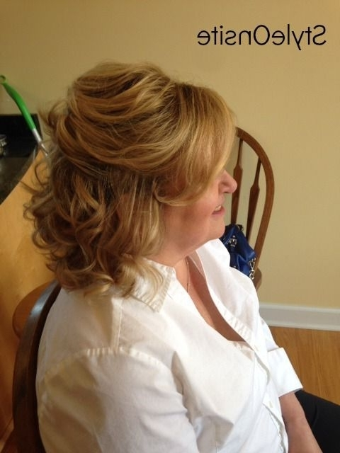Wedding Hairstyles For Mother Of The Bride | Mother Of The Bride Throughout Wedding Hairstyles For Mother Of Bride (View 3 of 15)