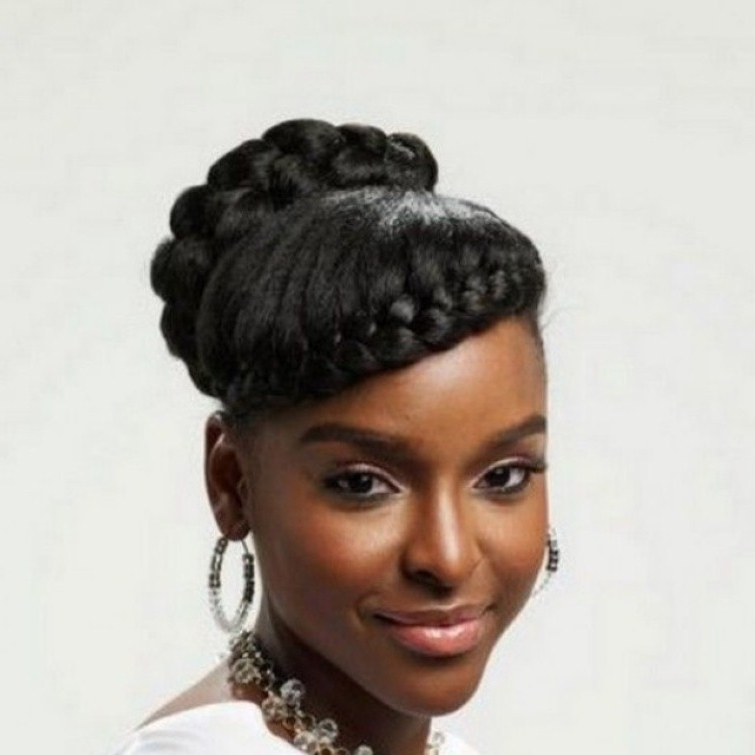 Wedding Hairstyles For Natural African American Hair Natural For Updos African American Wedding Hairstyles (View 7 of 15)