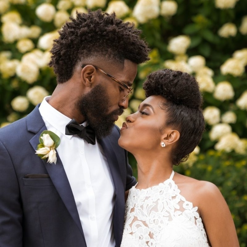 Wedding Hairstyles For Natural Black Hair – Natures Beauty Mix Llc In Wedding Hairstyles For Natural Black Hair (View 8 of 15)