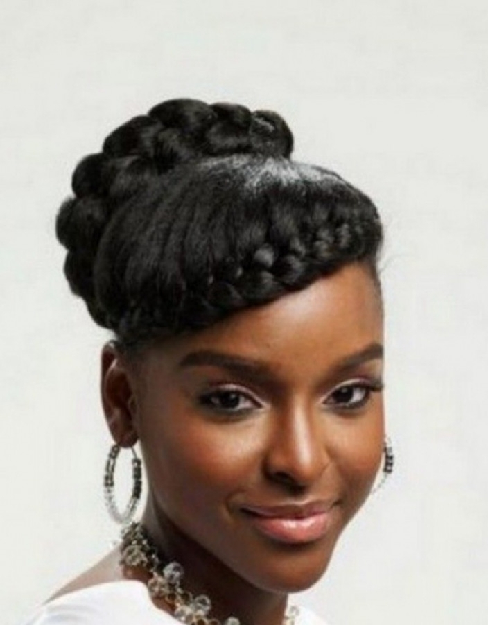 Wedding Hairstyles For Natural Kinky Hair – Hollywood Official Inside Wedding Hairstyles For Natural Kinky Hair (View 2 of 15)