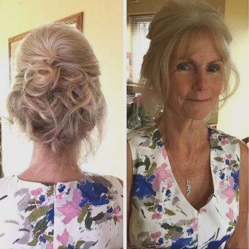 Wedding Hairstyles For Older Brides Elegant 40 Ravishing Mother Of Intended For Wedding Hairstyles For Older Brides (View 10 of 13)