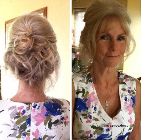 Wedding Hairstyles For Older Women New 40 Ravishing Mother Of The Pertaining To Wedding Hairstyles For Older Bride (View 6 of 15)