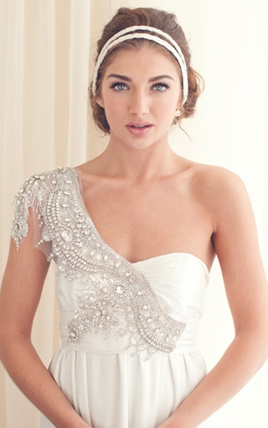 Wedding Hairstyles For One Shoulder Dress – All Women Dresses Pertaining To Wedding Hairstyles For One Shoulder Dresses (View 12 of 15)