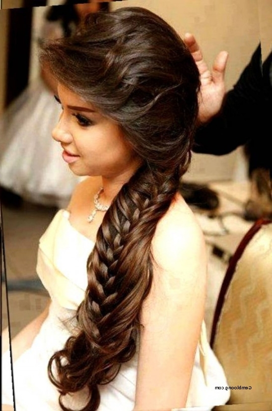 Wedding Hairstyles For Round Faces 2016 Inspirational Modern Party In Wedding Hairstyles For Long Hair With Round Face (View 13 of 15)