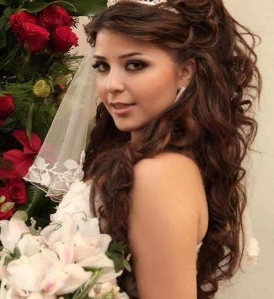 Wedding Hairstyles For Round Faces Bridal Hairstyles For Round Face Pertaining To Wedding Hairstyles For Round Face (View 8 of 15)