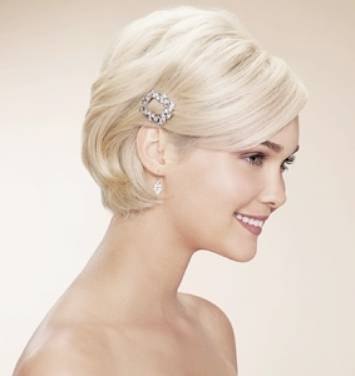 Wedding Hairstyles For Short Hair 2012 – 2013 | Short Hairstyles With Regard To Wedding Bob Hairstyles For Short Hair (View 4 of 15)