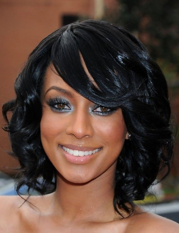 Wedding Hairstyles For Short Hair African American #bridesmaid Within Bridesmaid Hairstyles For Short Black Hair (View 4 of 15)