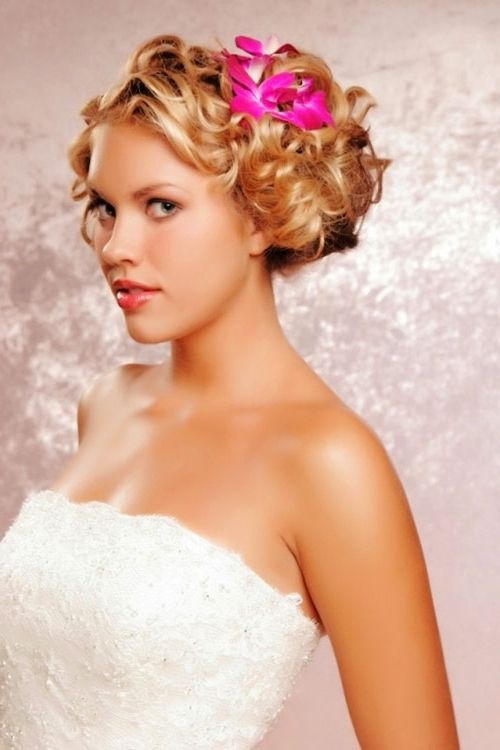 Wedding Hairstyles For Short Hair Bridesmaids – The Newest Hairstyles For Wedding Hairstyles For Short Hair Bridesmaid (View 14 of 15)