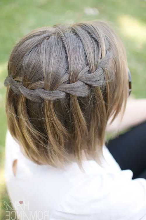 Wedding Hairstyles For Short Hair Half Up Half Down | Wedding Ideas For Down Short Hair Wedding Hairstyles (View 10 of 15)