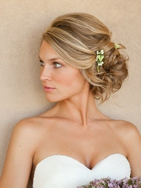 Wedding Hairstyles For Short Natural Hair – Hairstyle For Women & Man Intended For Wedding Hairstyles For Short Blonde Hair (View 4 of 15)