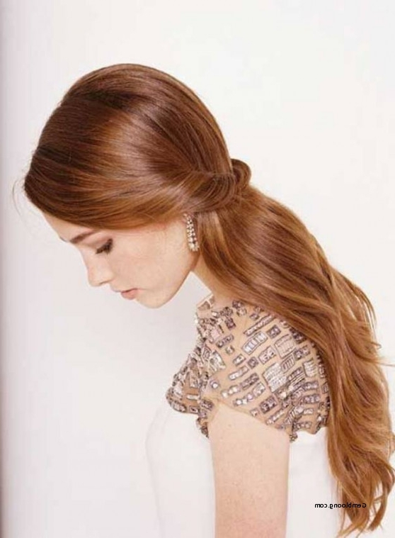 Wedding Hairstyles For Short Straight Hair Beautiful Best Wedding Regarding Wedding Hairstyles For Straight Hair (View 15 of 15)