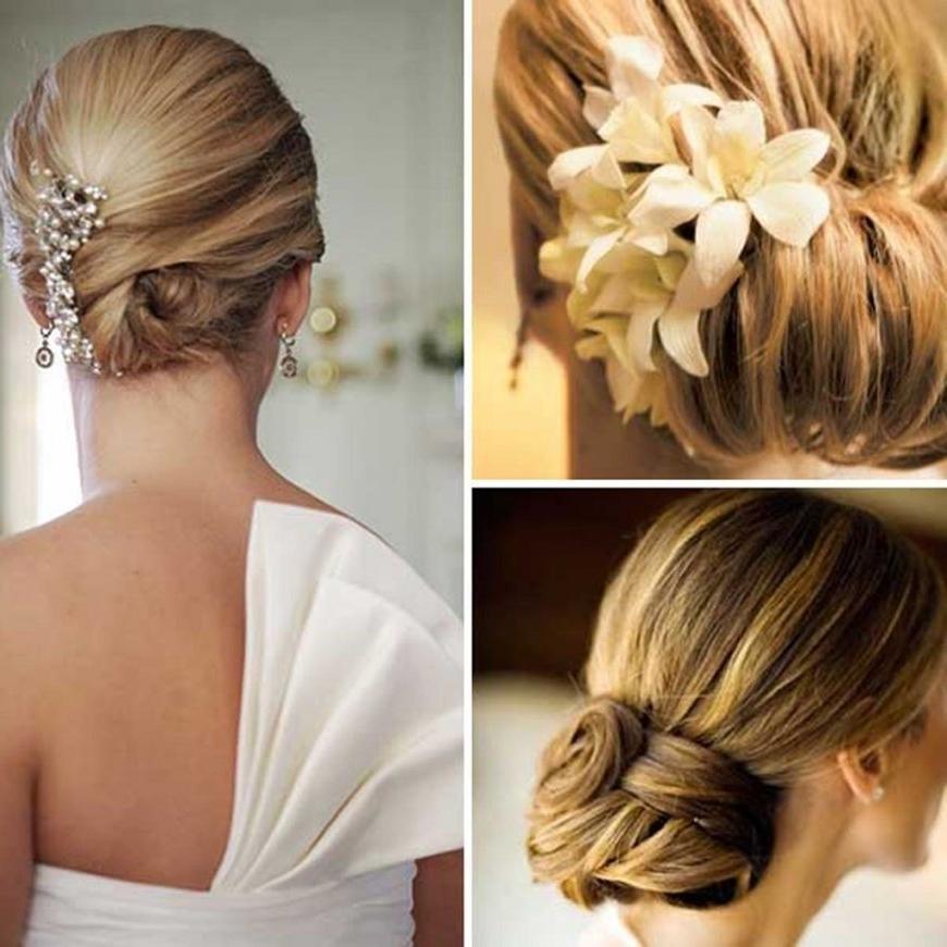 Wedding Hairstyles For Short Thin Hair | Fade Haircut | Latest Throughout Wedding Hairstyles For Short Thin Hair (View 8 of 15)