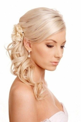 Wedding Hairstyles For Shoulder Length Curly Hair – Hollywood Official With Bridal Hairstyles For Medium Length Thin Hair (View 10 of 15)
