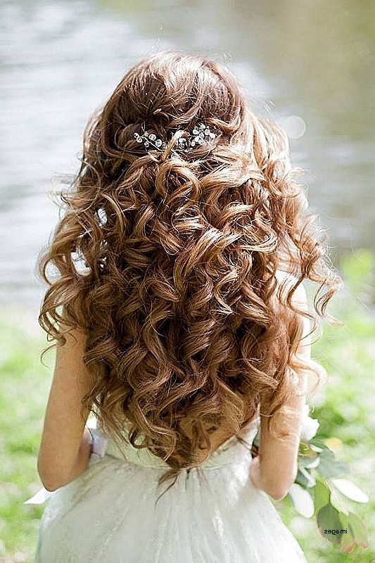 Wedding Hairstyles For Thick Curly Hair Fresh Best 25 Curly Wedding With Regard To Wedding Hairstyles For Long Thick Curly Hair (View 11 of 15)