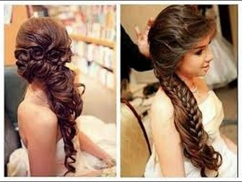 Wedding Hairstyles For Thin Hair – Youtube In Wedding Hairstyles For Long And Thin Hair (View 14 of 15)