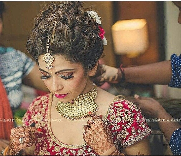 Wedding Hairstyles: Fresh Hairstyle For Bride Indian Wedding For Wedding Hairstyles For Indian Bridal (View 9 of 15)