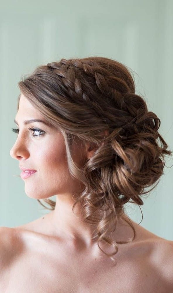 Wedding Hairstyles : Hairstyles For Weddings For Medium Length Hair With Wedding Hairstyles For Medium Length Hair (View 14 of 15)