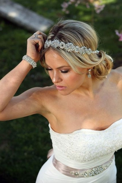Wedding Hairstyles Headband – Hairstyle For Women & Man Within Wedding Hairstyles With Headband (View 12 of 15)