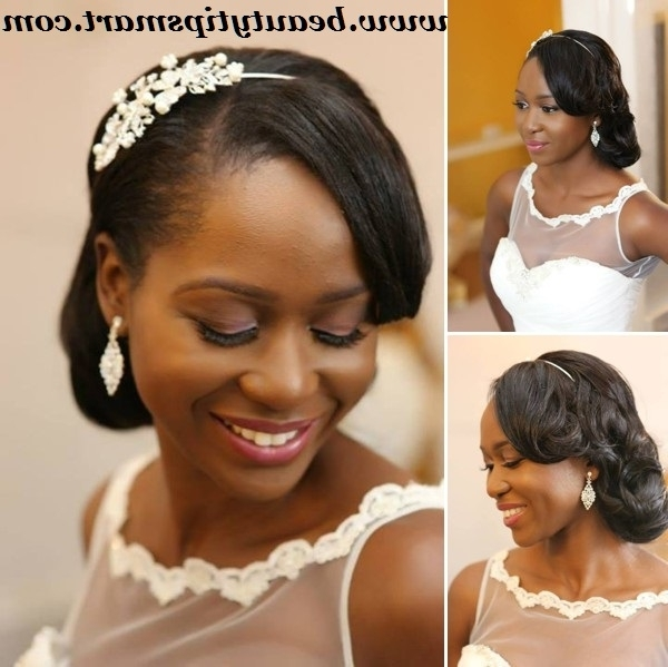 Wedding Hairstyles Ideas 2018 For Nigerian Brides In Wedding Hairstyles For Nigerian Brides (View 15 of 15)