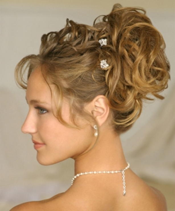Wedding Hairstyles Ideas: Curly Half Up Beach Wedding Hairstyles Regarding Beach Wedding Hairstyles For Long Curly Hair (View 12 of 15)
