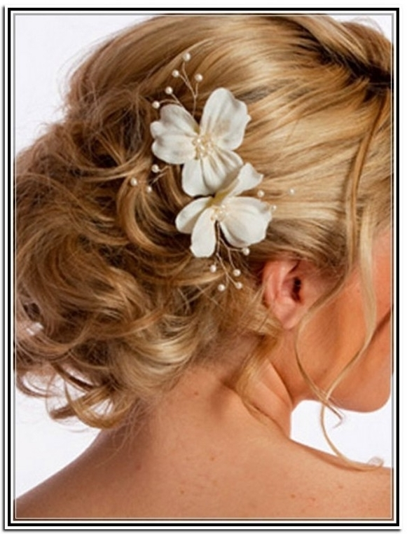 Wedding Hairstyles Ideas: Messy Low Updo Hairstyles For Long Hair With Regard To Bridal Updo Hairstyles For Medium Length Hair (View 12 of 15)