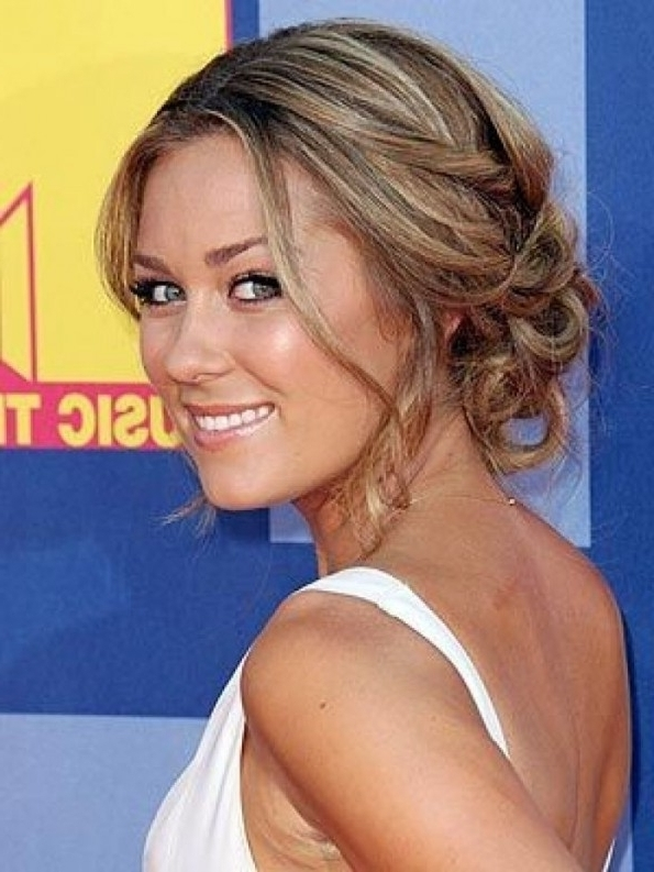 Wedding Hairstyles Ideas: Side Ponytail Curly Up Do Medium Length Intended For Wedding Hairstyles For Medium Length Fine Hair (View 15 of 15)