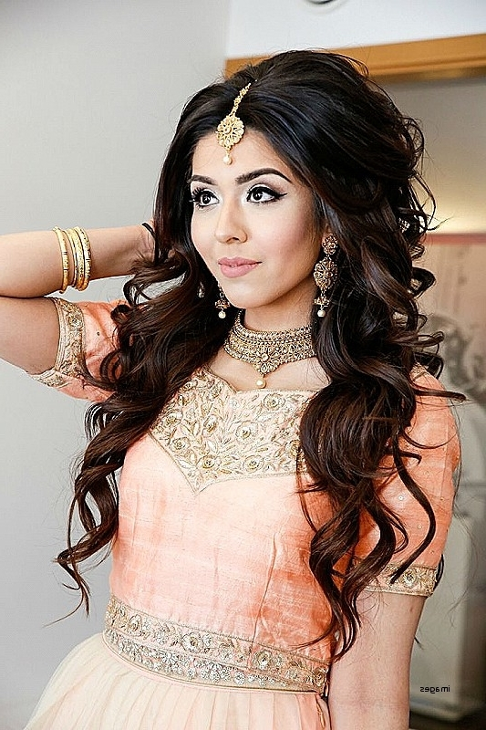 Wedding Hairstyles: Inspirational Hairstyles For Asian Weddings In Asian Wedding Hairstyles For Long Hair (View 14 of 15)