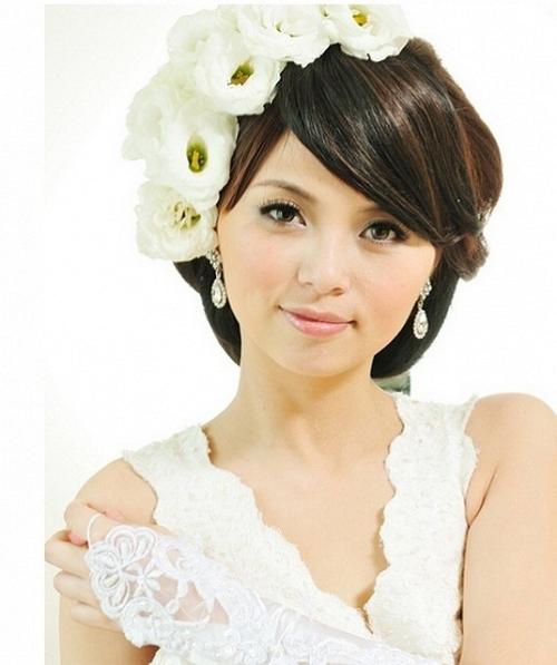 Wedding Hairstyles Japanese 2014 | Wedding Inspiration With Regard To Japanese Wedding Hairstyles (View 5 of 15)