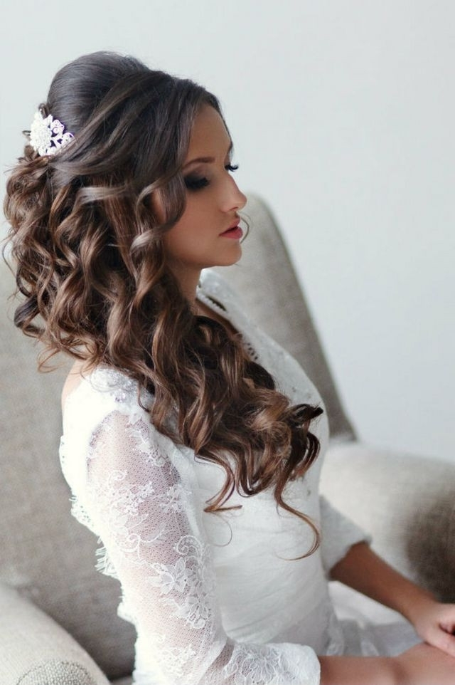 Wedding Hairstyles Long Thick Hair Unique Hair Style For Long Thick For Wedding Hairstyles For Long Thick Hair (View 5 of 15)