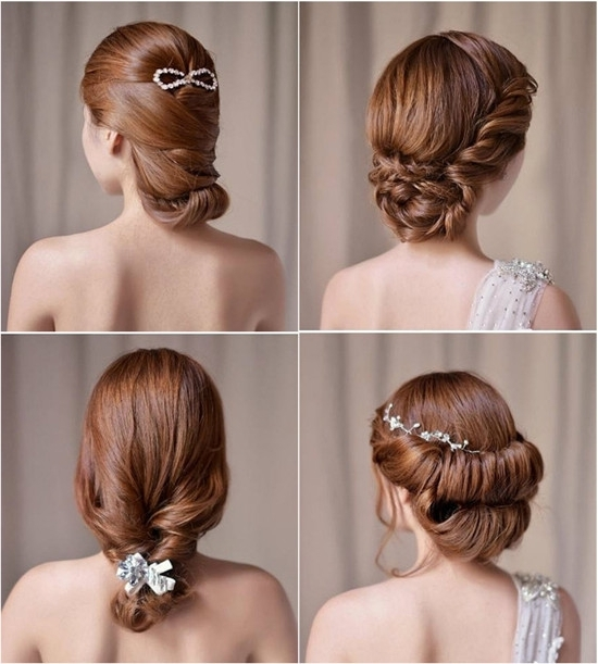 Wedding Hairstyles Looks: Wedding Updos 2015 – Vpfashion Inside Classic Wedding Hairstyles (View 12 of 15)