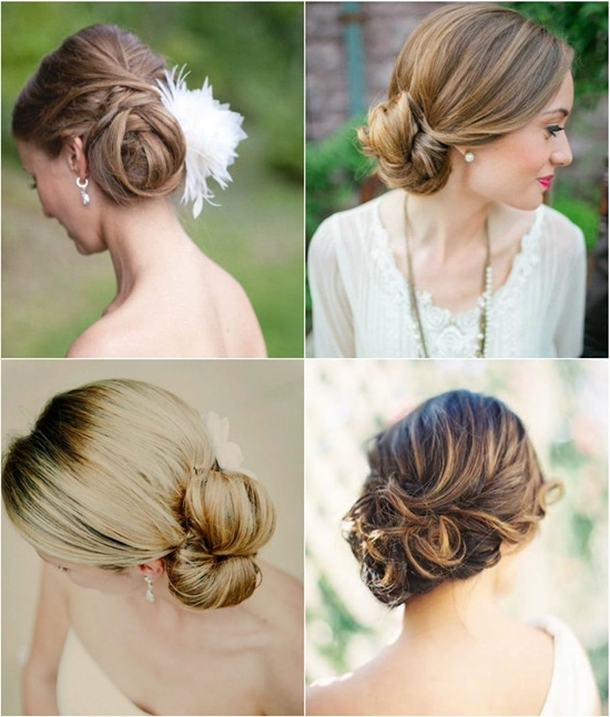 Wedding Hairstyles Looks: Wedding Updos 2015 – Vpfashion Within Wedding Hairstyles For Long Hair With Side Swept (View 15 of 15)