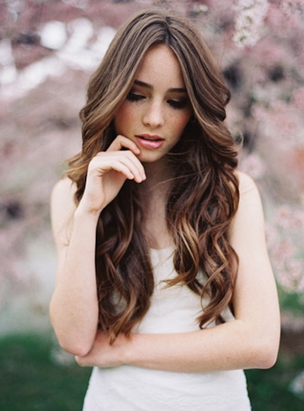 Wedding Hairstyles Loose Curls – Hairstyle For Women & Man For Wedding Hairstyles For Long Loose Curls Hair (View 3 of 15)