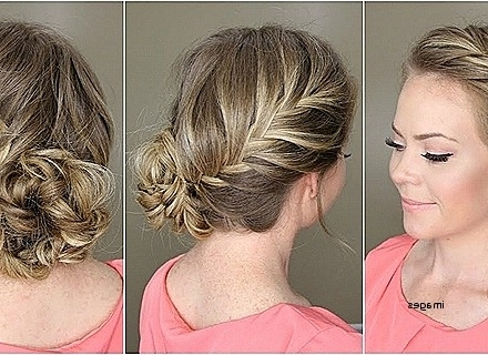 View Gallery Of Curly Side Bun Wedding Hairstyles Showing 10 Of 15
