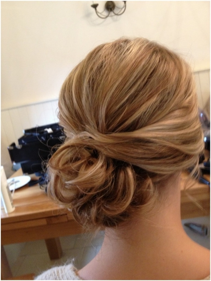 15 Best Collection Of Loose Bun Wedding Hairstyles