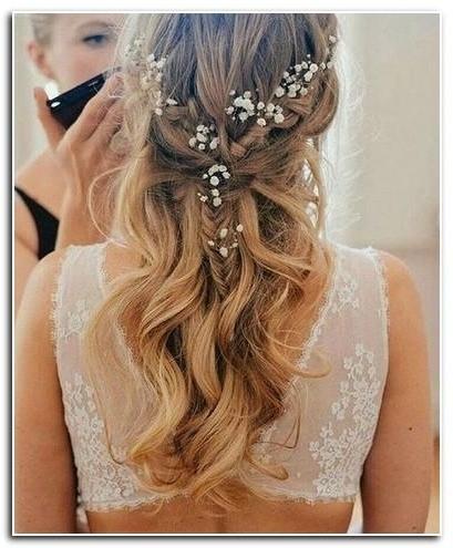 Wedding Hairstyles Medium Length Hair Down | New Hairstyle Designs In Wedding Hairstyles Down For Medium Length Hair (View 6 of 15)