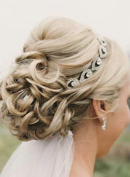Wedding Hairstyles : Medium Length Hairstyles For Wedding (View 13 of 15)