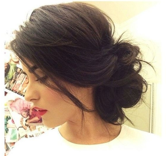 Wedding Hairstyles Messy Updos New Awesome 20 Classy Messy Updo Throughout Messy Updos Wedding Hairstyles (View 10 of 15)