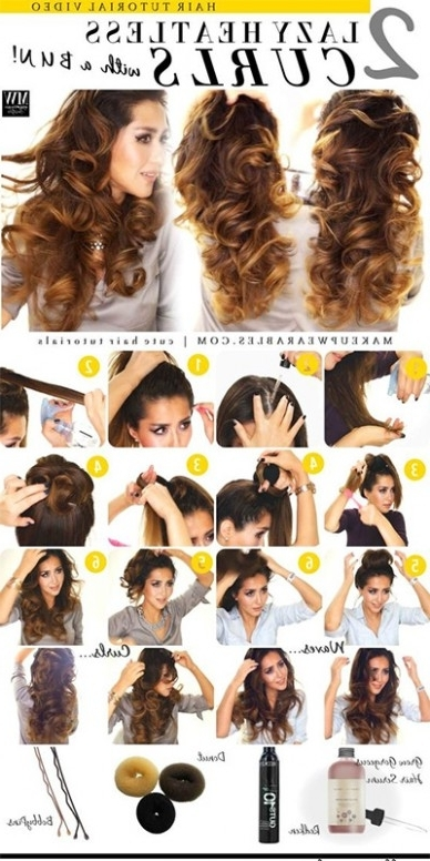 Wedding Hairstyles No Heat | Hairstyles Long Hair Girls | Man | Male Pertaining To Wedding Hairstyles Without Heat (View 7 of 15)