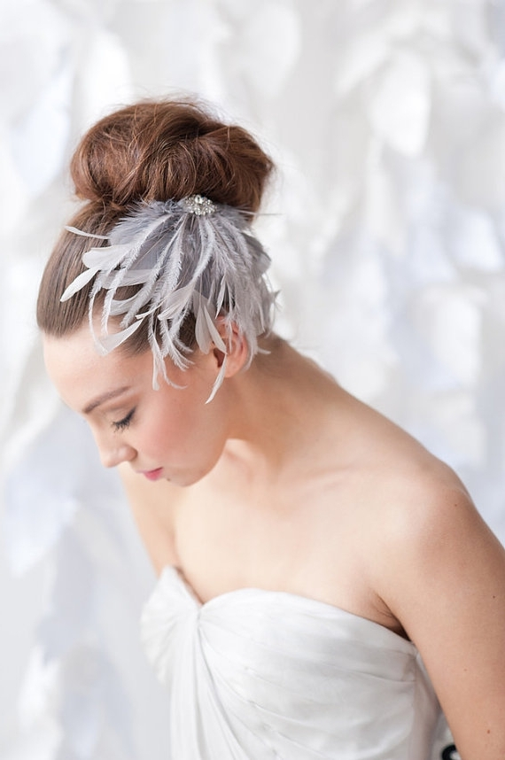 Featured Photo of Wedding Hairstyles Without Veil