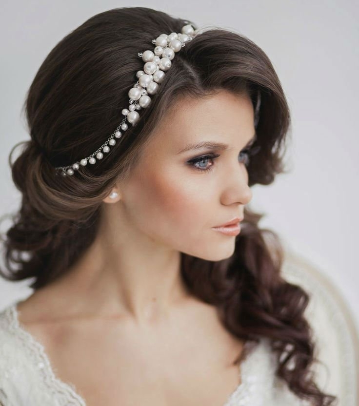 Wedding Hairstyles : Pearl Hair Pieces For Weddings (View 12 of 15)