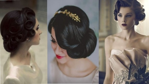 Wedding Hairstyles Pin Curls | Vizitmir | Hairstyles Long Hair Girls Within Pin Curls Wedding Hairstyles (View 6 of 15)