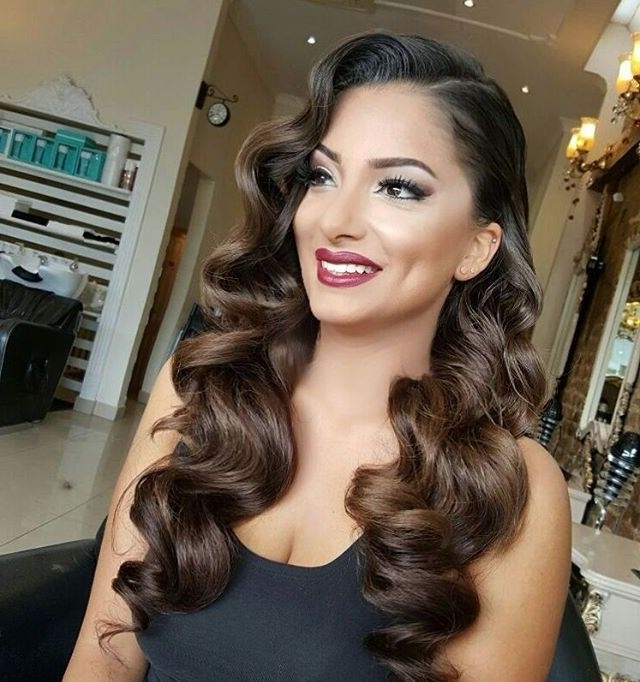Featured Photo of Retro Wedding Hairstyles For Long Hair