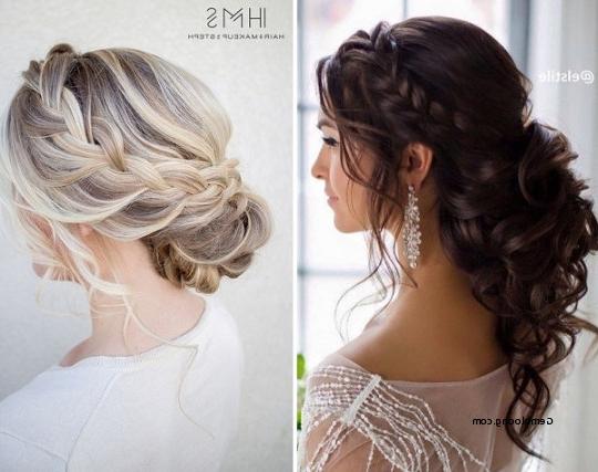 Wedding Hairstyles Plaits Bun Fresh Wedding Line Hair 15 Fantasy Regarding Plaits Bun Wedding Hairstyles (View 6 of 15)