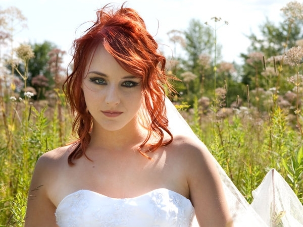Wedding Hairstyles Red Hair | Best Wedding Hairs Within Wedding Hairstyles For Long Red Hair (View 14 of 15)