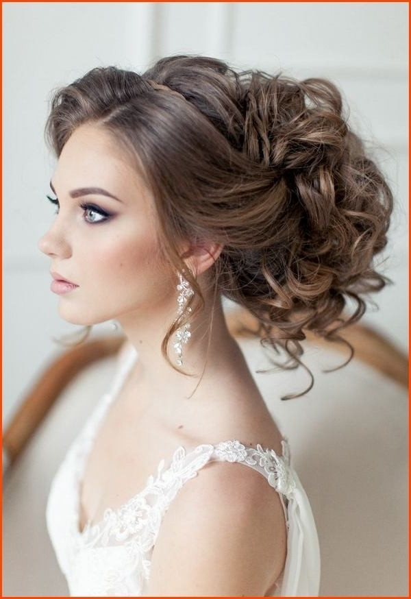 Gallery Of Wedding Hairstyles For Round Face With Medium Length Hair
