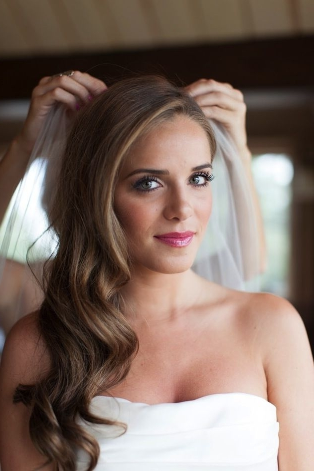 Wedding Hairstyles: Side Swept Waves Inspiration And Tutorials Inside Side Swept Wedding Hairstyles (View 12 of 15)