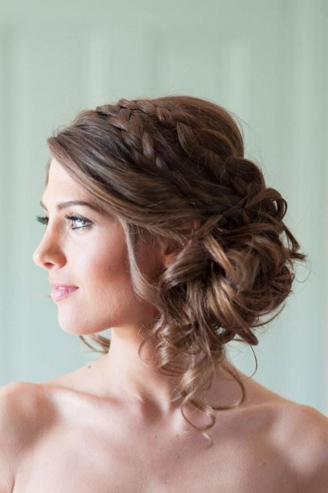Wedding Hairstyles Side Updos For Long Hair The Sweet 50Th | Latest With Updo Wedding Hairstyles For Long Hair (View 11 of 15)