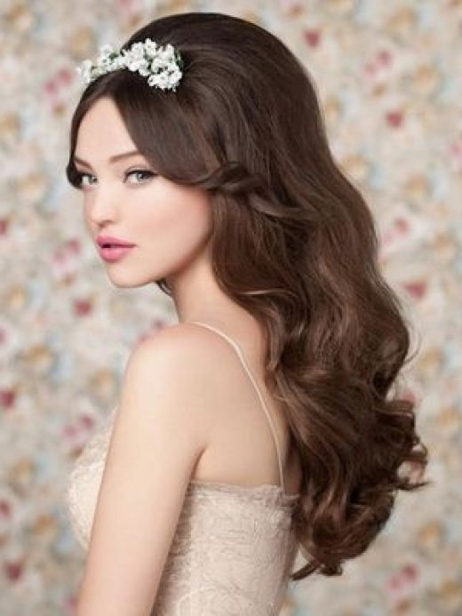 Wedding Hairstyles That Add Volume – Hair World Magazine For Wedding Hairstyles For Long Layered Hair (View 11 of 15)